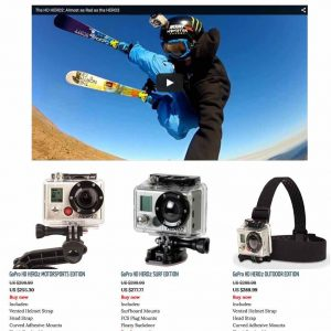 Sport cameras (review site)