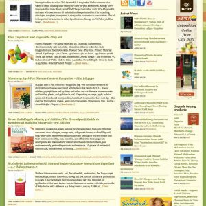 Green living tips, news, products & reviews