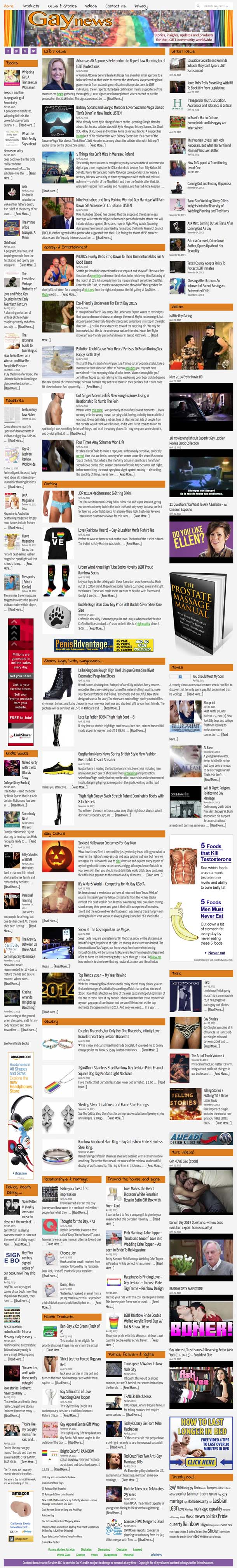 News, insights, updates and products for the gay community worldwide