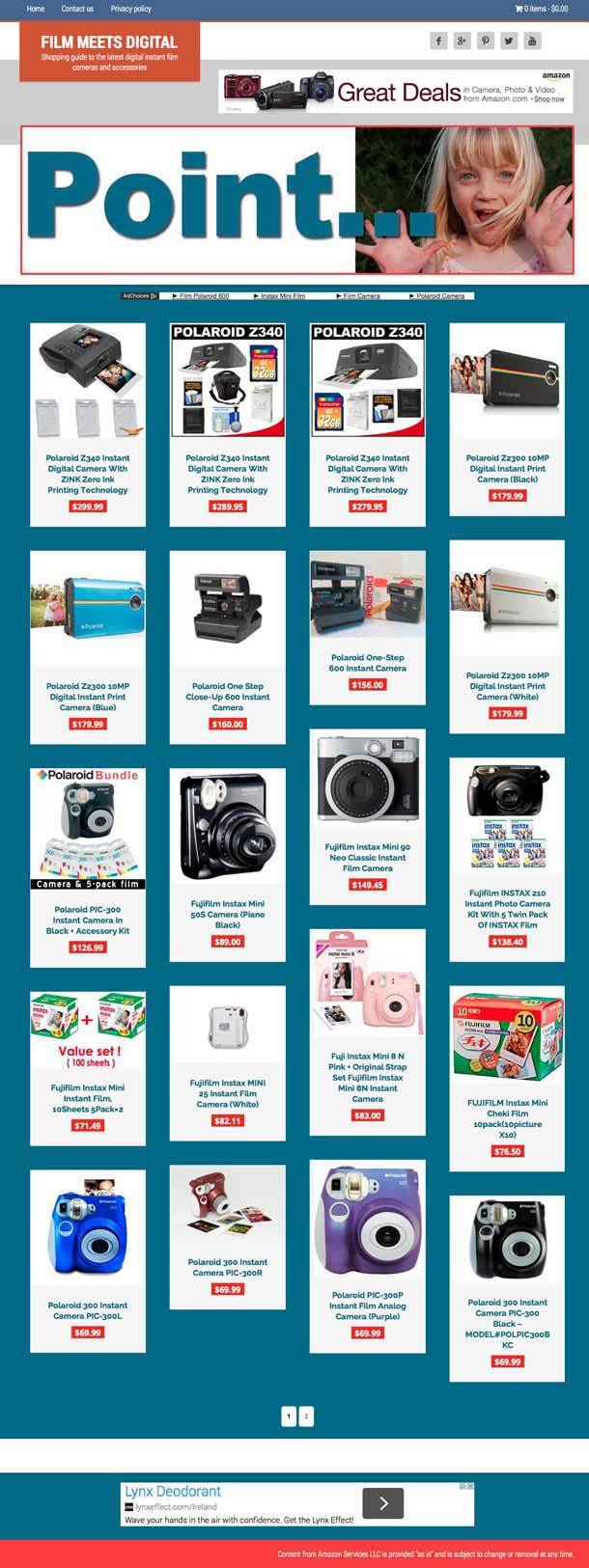 Shopping guide to the latest digital film cameras