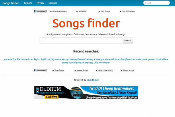 Songs_finder_-_All_the_music_you_are_looking_for!