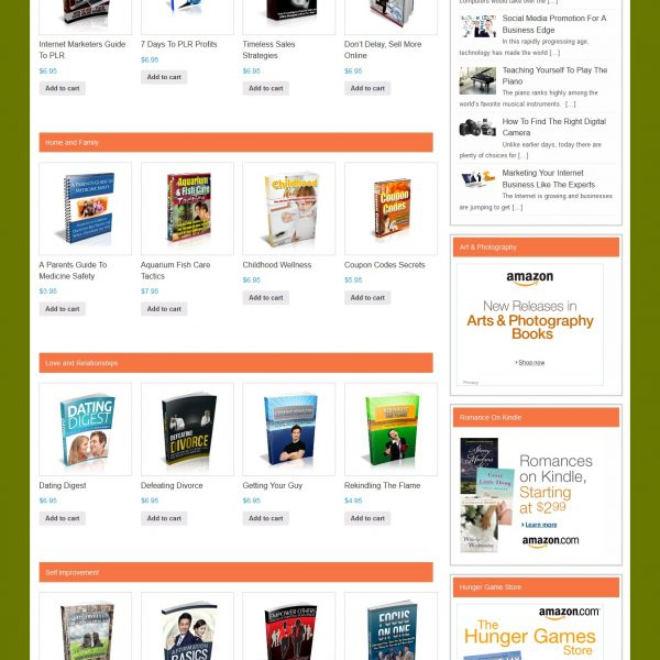 eBook Store!!! Your own ClickBank-like business!!!