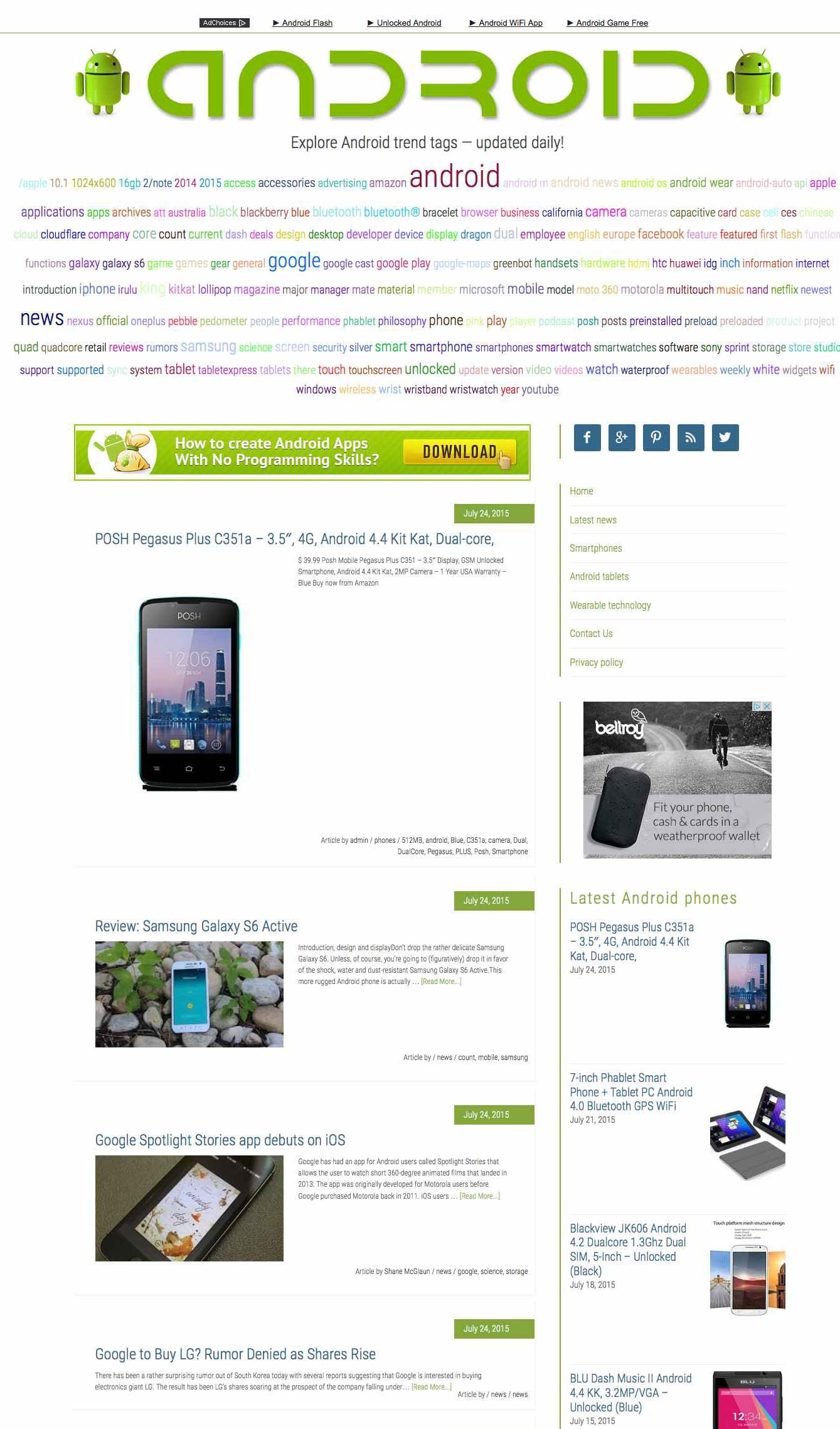 Android news and products 2x automation megasite