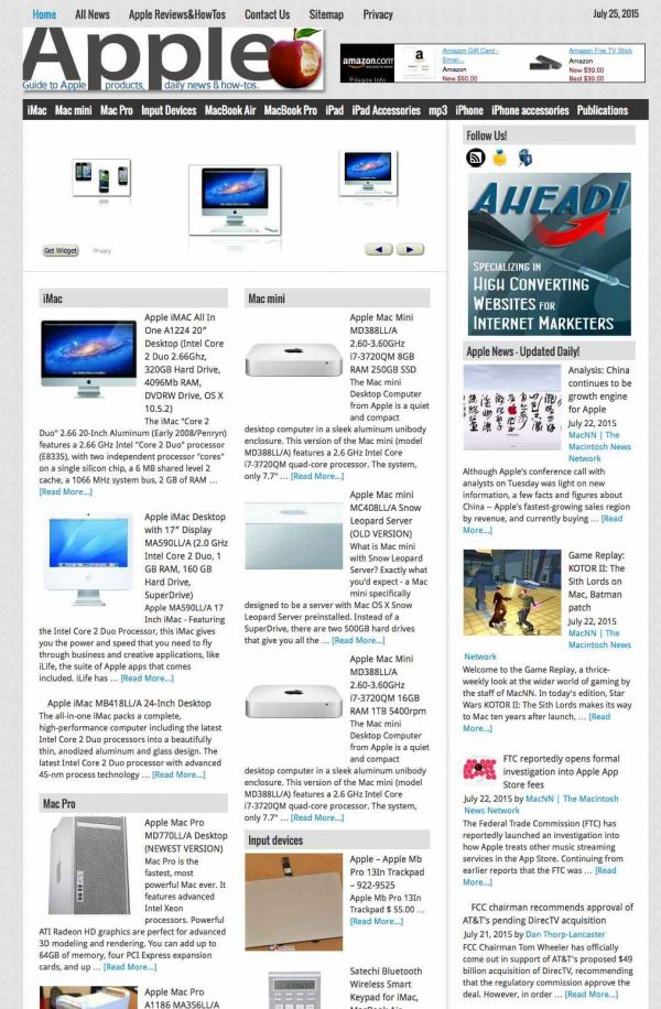 Apple products & news