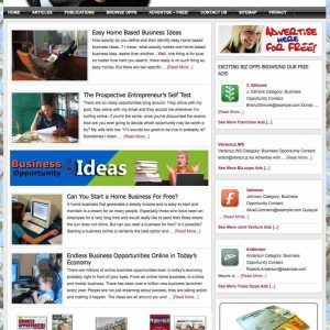 Biz Opps, business opportunities Classified Ads website