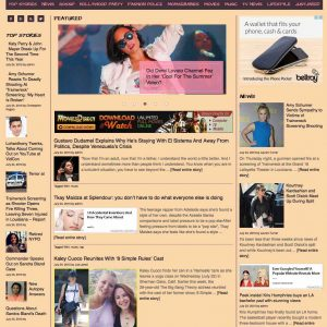 Celebrities News Aggregator