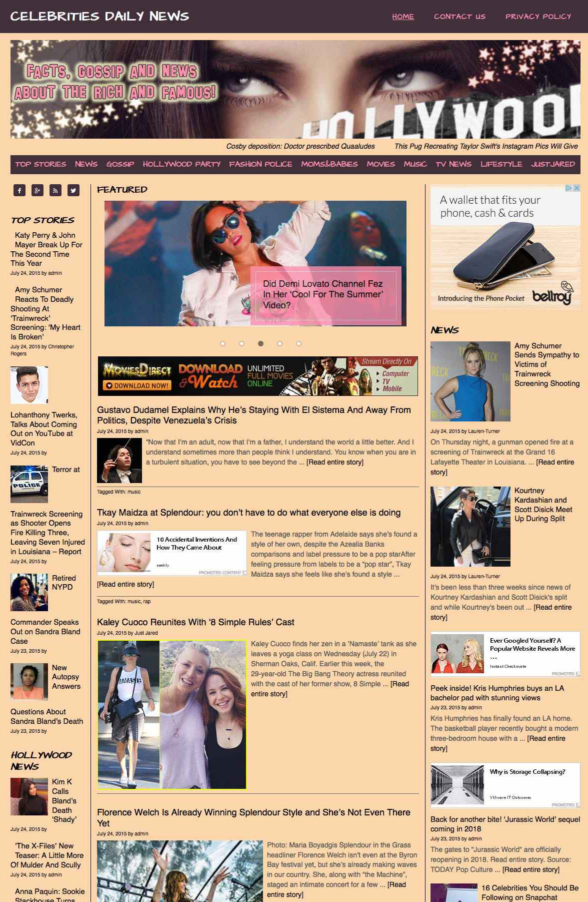 News Aggregator Template Celebrities News Aggregator Ahead Hosting