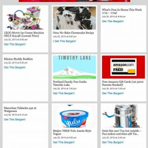 Coupons aggregator