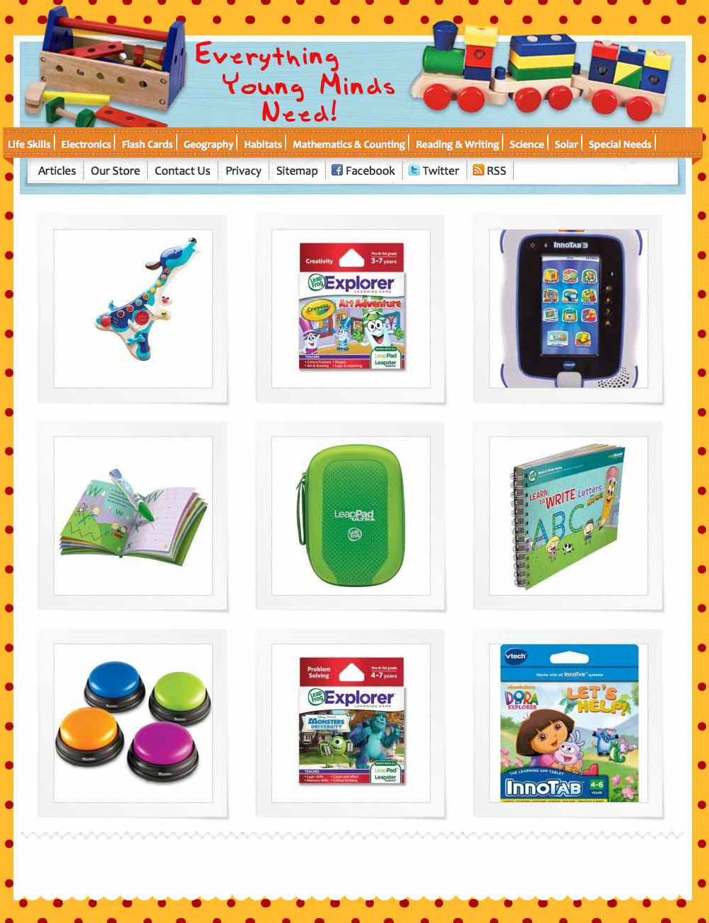 Educational and learning Toys