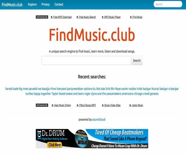 Music Search Engine