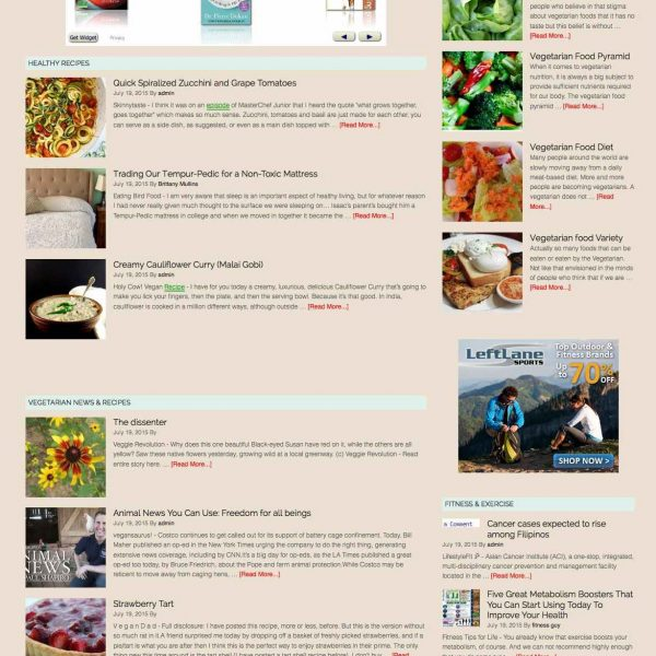Healthy recipes & Weight Loss