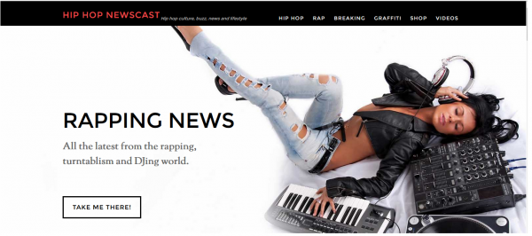 HIP HOP news/magazine megasite with Amazon products + Videos + 2x automation + mobile app!