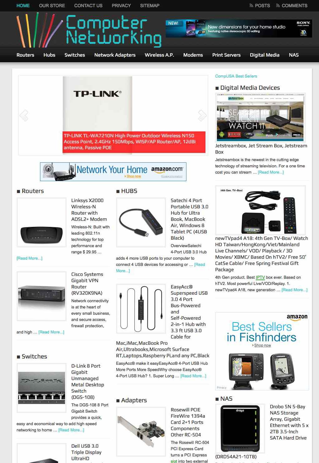 Networking News and Products