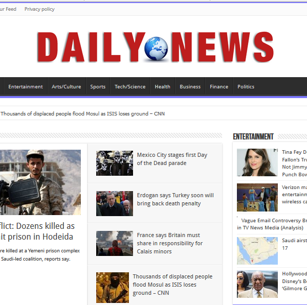 World News aggregator NEW DESIGN!!