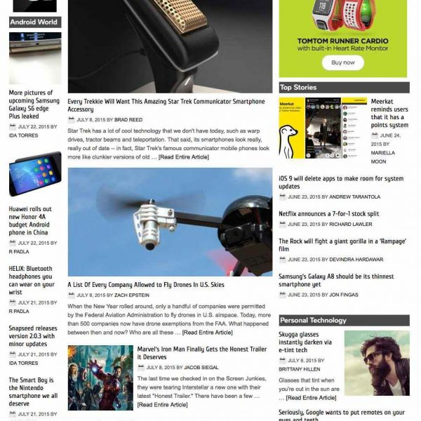 Technology News Aggregator
