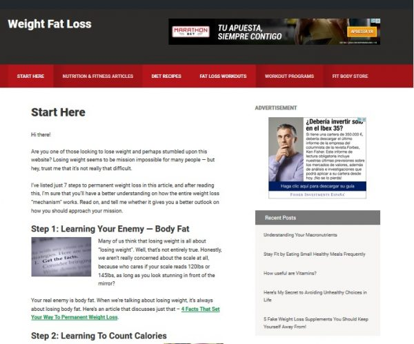 Weight Loss NEW Design