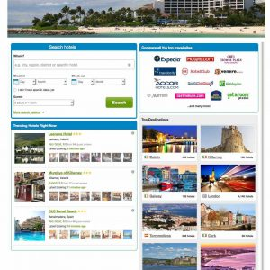 Hotels search compare with aggregator